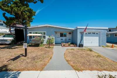 Clairemont Single Family Home For Sale: 3626 Pocahontas Ct