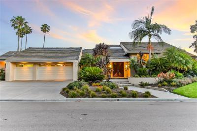 La Jolla Single Family Home For Sale: 2001 Via Don Benito