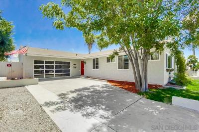 Single Family Home Sold: 6859 Cowles Mountain Blvd