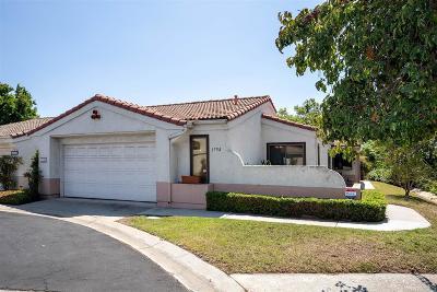 Escondido Single Family Home For Sale: 1758 Arroyo Glen