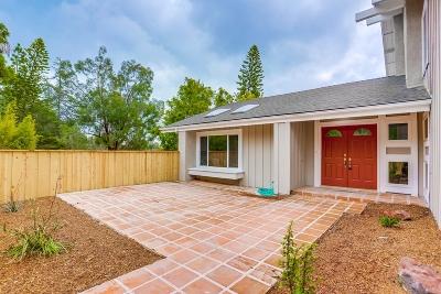 Oceanside Single Family Home For Sale: 3053 Sonja Ct.