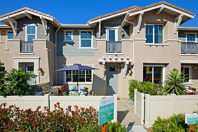 Carlsbad Townhouse For Sale: 3143 Ceja Place #LOT 65
