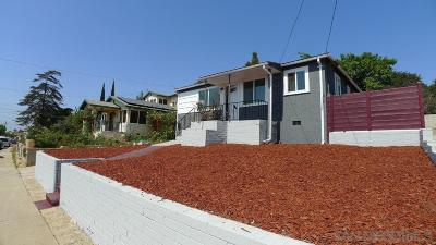 Linda Vista Single Family Home For Sale: 2335 W Jewett St