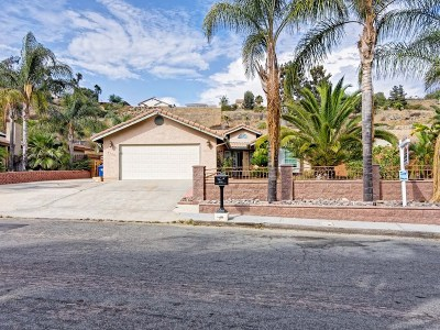 Santee Single Family Home For Sale: 9125 Canyon Park Terrace