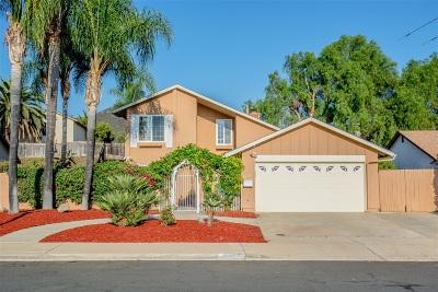 Poway Single Family Home For Sale: 15107 Hesta St