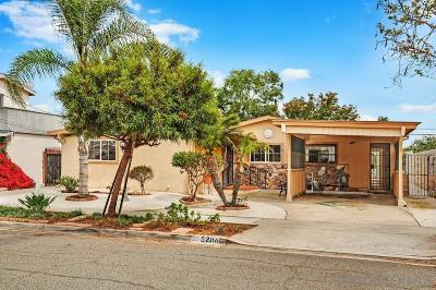 Clairemont, Clairemont East, Clairemont Mesa, Clairemont Mesa East Single Family Home For Sale: 5286 Barstow St