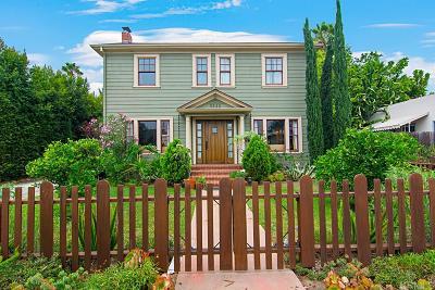 San Diego Single Family Home Pending: 3322 Granada Ave.