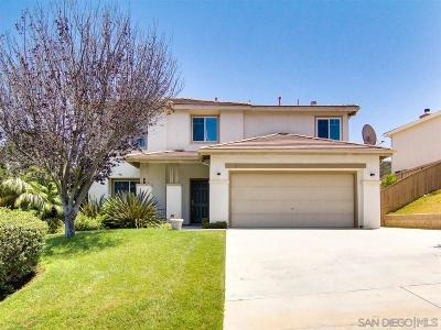 San Marcos Single Family Home Pending: 1053 Via Vera Cruz