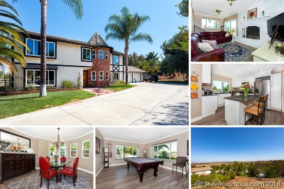 Riverside County Single Family Home For Sale: 30677 San Pasqual Rd