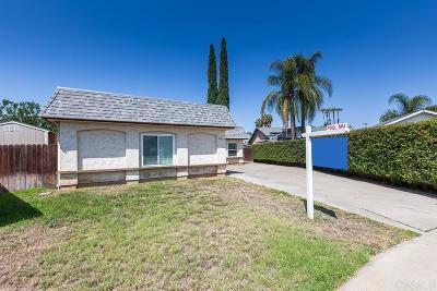 Escondido Single Family Home For Sale: 2040 Via Veneto