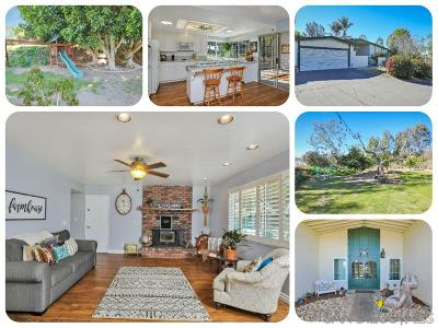 Fallbrook Single Family Home For Sale: 1852 Foxfire Rd