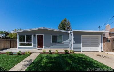 Single Family Home For Sale: 2914 J Avenue