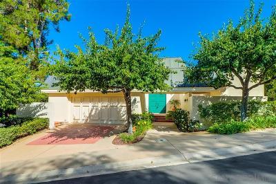 La Jolla Single Family Home For Sale: 6599 Caminito Blythefield