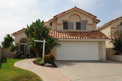 Vista Single Family Home For Sale: 1780 Pinnacle Court