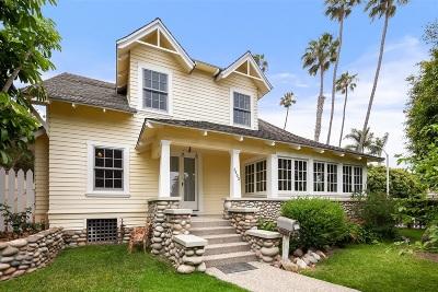 La Jolla Single Family Home For Sale: 5403 Beaumont Ave