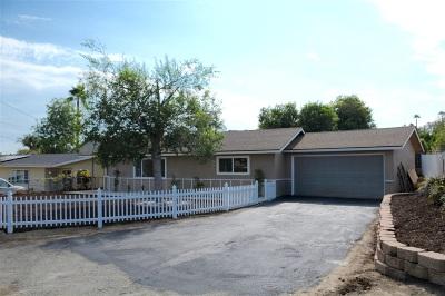 Vista Single Family Home For Sale: 1362 Teelin Avenue