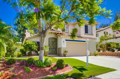 San Marcos Single Family Home For Sale: 1254 Via Contessa