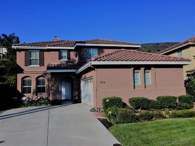 San Marcos Single Family Home Pending: 1224 Corte Zafiro