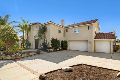 Escondido Single Family Home For Sale: 1114 Amelia Pl