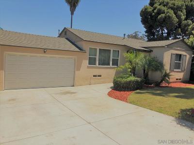 La Mesa Single Family Home For Sale: 8770 Campo Rd