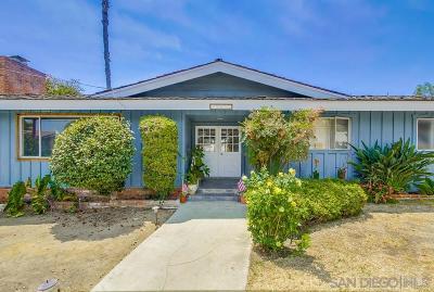 Del Cerro Single Family Home For Sale: 5652 Helena Pl
