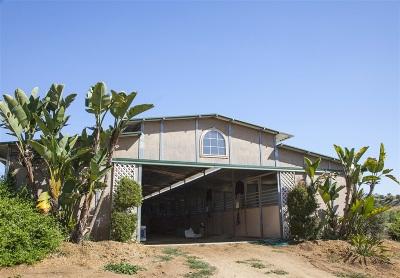 Fallbrook Single Family Home For Sale: 2357 Via Monserate