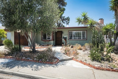 San Diego Single Family Home For Sale: 5230 Rincon St