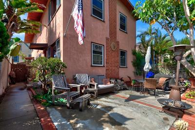 Pacific Beach, Mission Beach Multi Family 2-4 For Sale: 817-19 Jamaica Ct