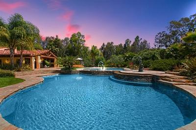Rancho Santa Fe Single Family Home For Sale: 16409 Via De Santa Fe