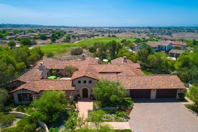 Santaluz Single Family Home For Sale: 7985 Sendero De Oro
