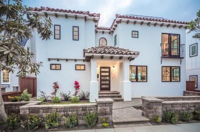 La Jolla Single Family Home For Sale: 6756 Tyrian