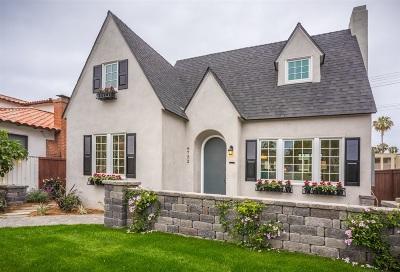 La Jolla Single Family Home For Sale: 6752 Tyrian