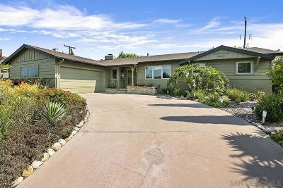 San Diego Single Family Home Pending: 5153 Remington Rd
