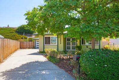 Santee Single Family Home For Sale: 10053 Lake Canyon Ct