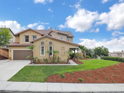 Single Family Home Sold: 27368 Murrieta Oaks Ave