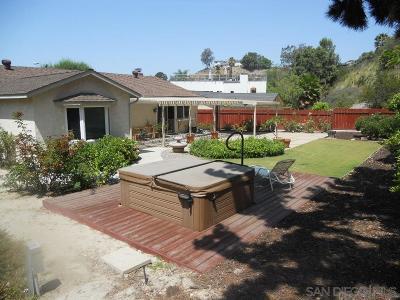 Del Cerro Single Family Home For Sale: 6236 Cabaret Street