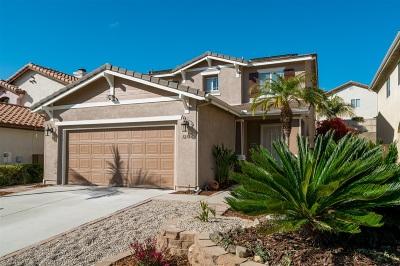San Marcos Single Family Home For Sale: 1276 Avenida Amistad