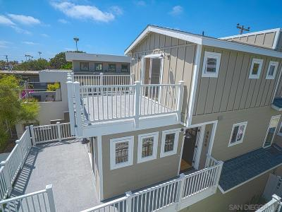 Ocean Beach, Ocean Beach/Point Loma, Ocean Obeach Single Family Home For Sale: 4954 Saratoga Ave