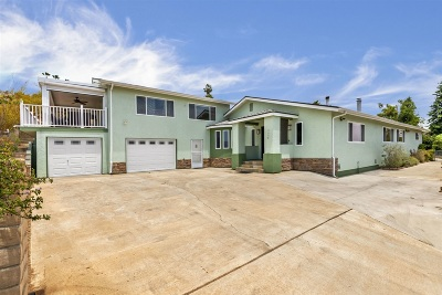 La Mesa Single Family Home For Sale: 9008 Terrace Dr.