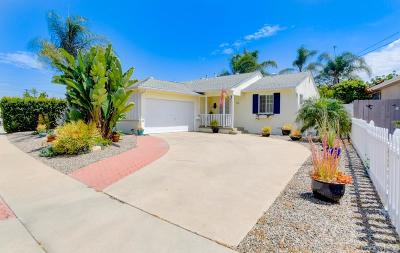 San Diego Single Family Home For Sale: 6257 Danbury Way