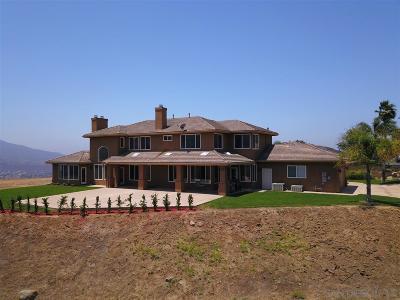 el cajon Single Family Home For Sale: 1592 Vista Sierra Dr