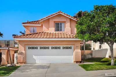 Vista Single Family Home For Sale: 1215 Adobe Ter