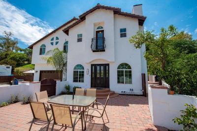 Santee Single Family Home For Sale: 8505 Mesa Rd