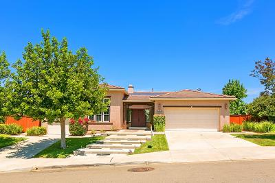 Escondido Single Family Home Sold: 636 Ridgemont Circle