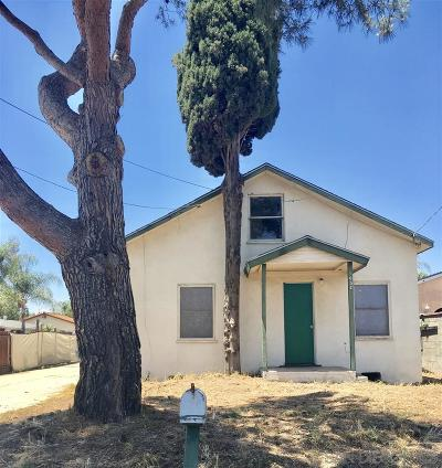 Escondido Single Family Home For Sale: 1052 E Lincoln