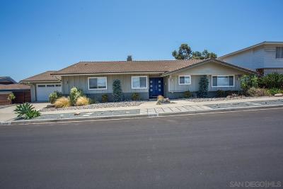 Single Family Home Pending: 5703 Del Cerro Blvd