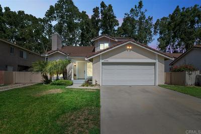 Poway Single Family Home For Sale: 14925 Conchos Dr