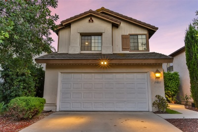 Single Family Home For Sale: 15887 Sunnyfield Place