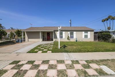 Chula Vista Single Family Home For Sale: 652 Minot Ave
