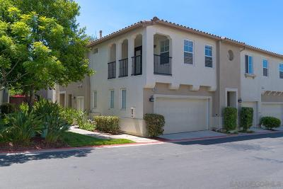 Chula Vista Townhouse For Sale: 2744 Crown Ridge Rd #2